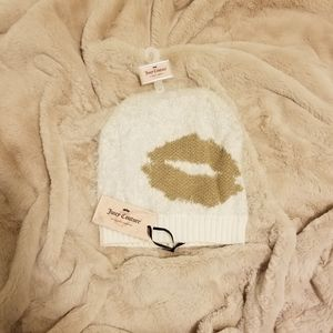 NEW Juicy Couture Kiss Beanie